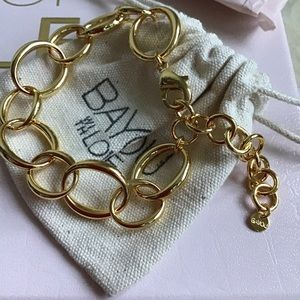 BAYOU WITH LOVE | Oval Chain Bracelet | NIB